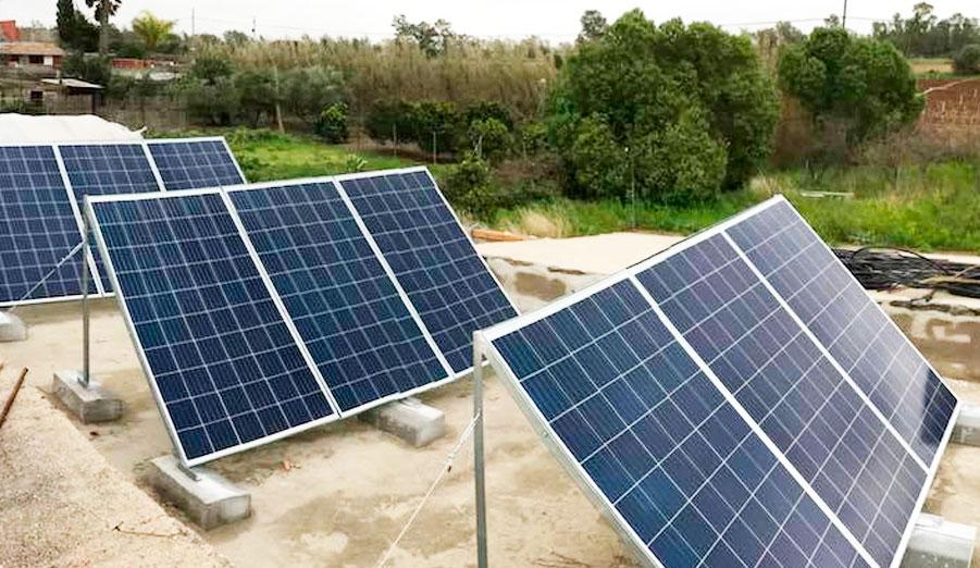 Energía Fotovoltaica Aislada - Instalada en Arcos (Cádiz)